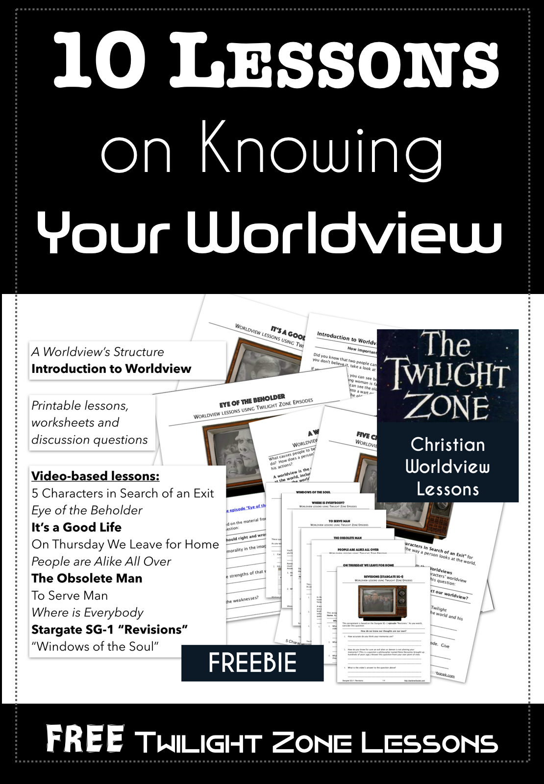 Twilight Zone Worldview Lessons – Darlene N  Bocek