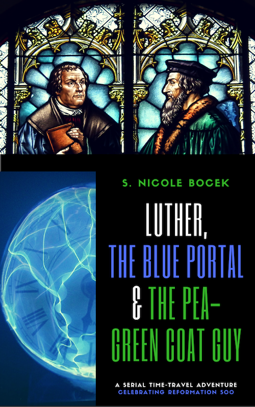 Luther, the Blue Portal & the Pea-Green Coat Guy, Episode 1