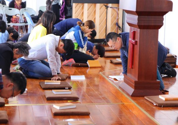 Chinese Church prays