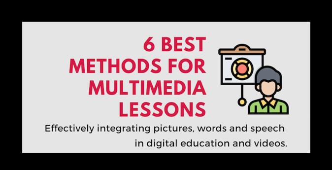 6 Best Methods for Multimedia Instruction